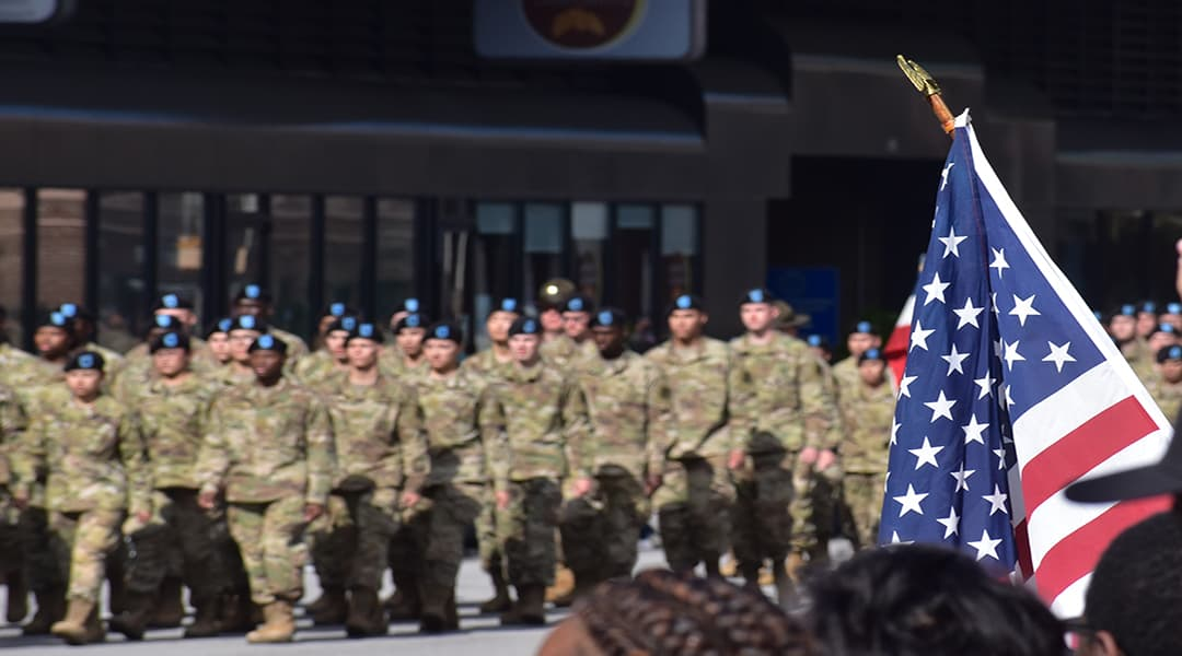 Columbia shows support with annual Veterans Day parade