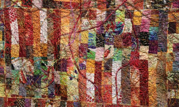 Artist stitches civil rights history into quilts and coats