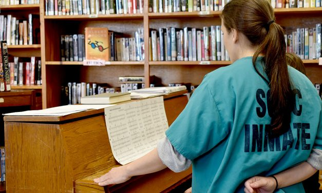 Music builds confidence among female prisoners