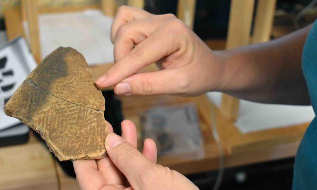 Modern technology reveals ancient pottery designs
