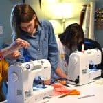 Sewing enters a new generation