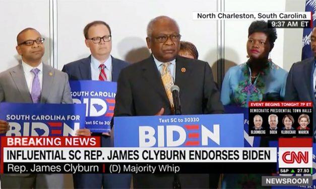 Clyburn swings his support to Biden