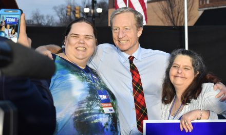 Steyer calls for $22 minimum wage, 12-year term limits