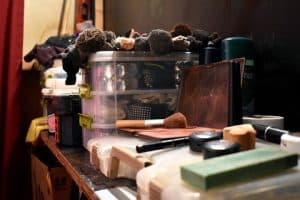 A small portion of Patti O'Furniture's stage makeup.