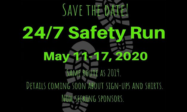 SAFE Lexington announces second annual 24/7 Safety Run