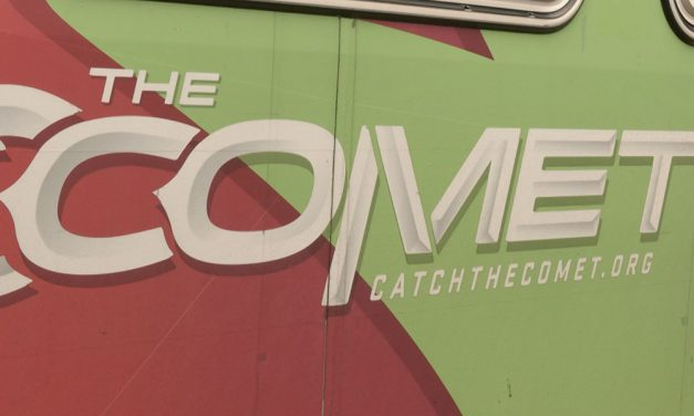 Comet bus system assisting lower income residents