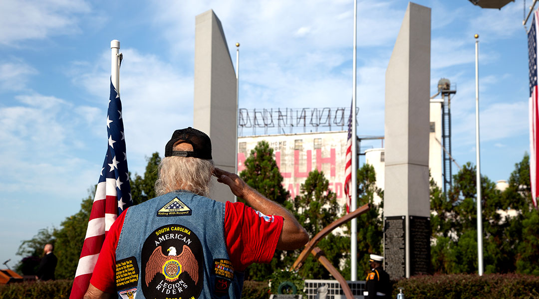 """""""Wall of Remembrance"""" unveiled on 9/11"""