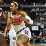 A'ja Wilson is on top of her game