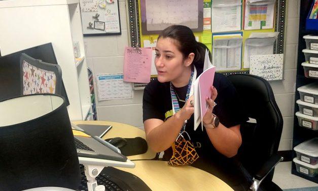 Lexington 1 school teacher makes mask-wearing fun for kids