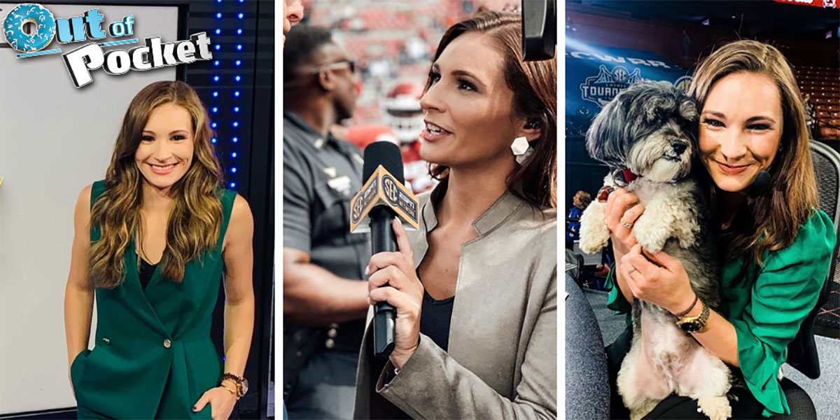 """""""Alyssa with a show': Lang breaks gender barrier at SEC Network"""