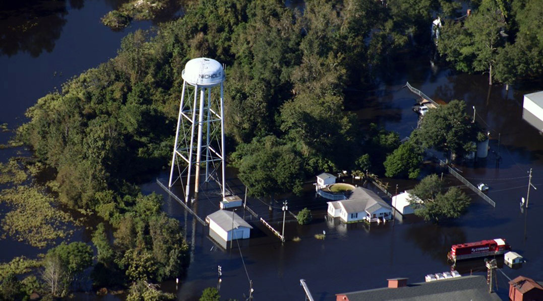 Weathering two storms: S.C. town in need of funding to survive floods