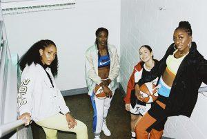 WNBA playersA'ja Wilson, Sylvia Fowles,Sue Bird and Diamond DeShields
