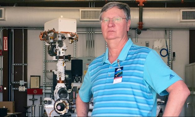 UofSC professor takes part in new Mars Rover mission