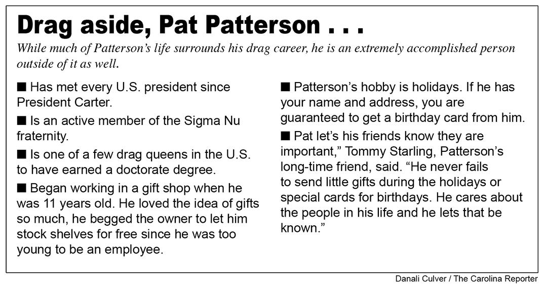 Pat Patterson graphic