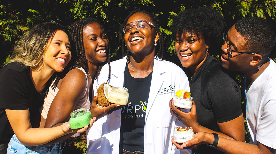 Clemson chemistry student finds purpose in beauty business