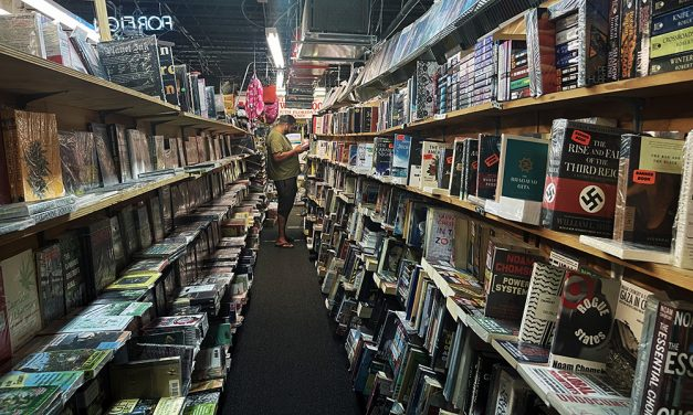 Peeking into the world of books