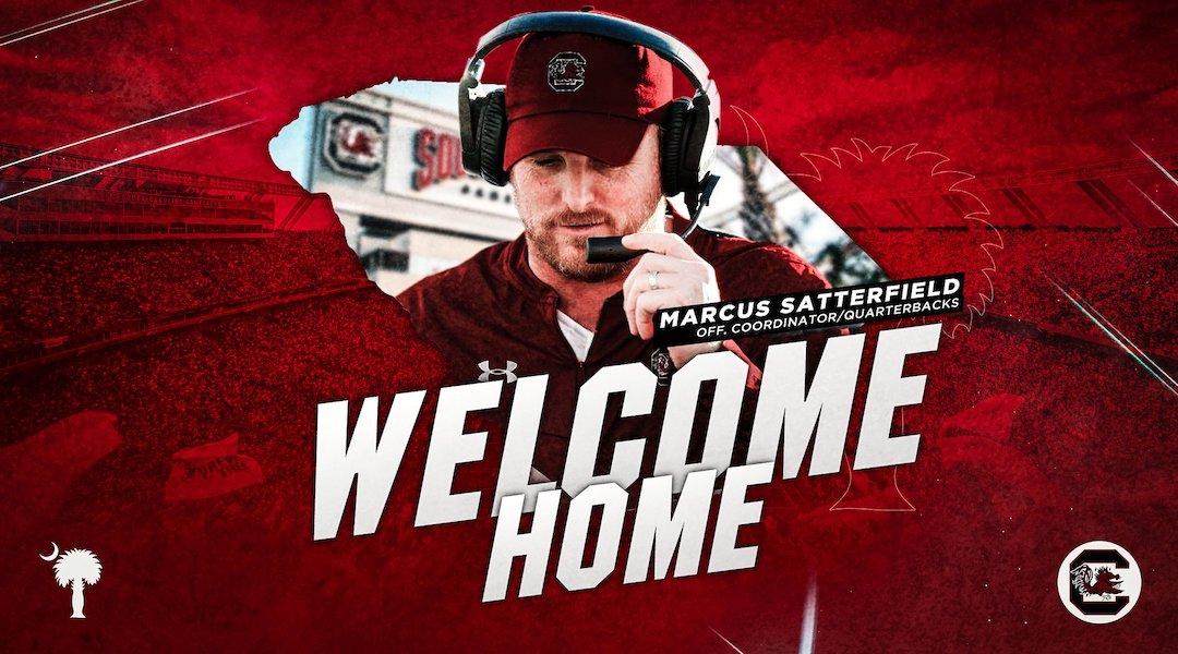 Marcus Satterfield brings 'clean slate' as Gamecocks new offensive coordinator