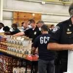 South Carolina law enforcement packs 1,600 boxes of food on anniversary of fallen officer's death